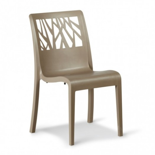 Chaise taupe