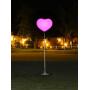 Ballon éclairant coeur